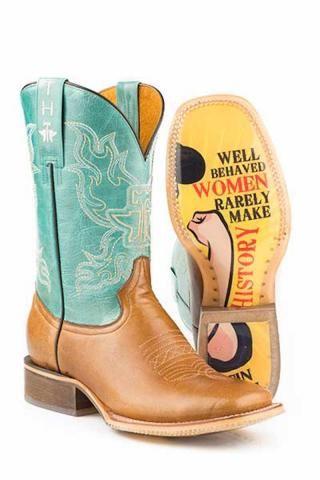 Tin Haul Sassy Boots - Urban Western Wear - Well Behaved Women Rarely Make History