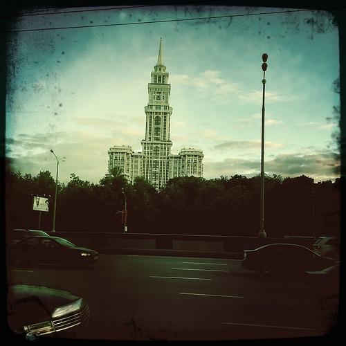 Московский Сокол  (John S объектив, Float пленка, без вспышки)  Москва.Сокол