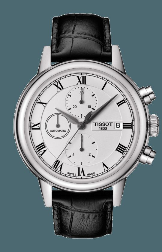 06ef3e7556c Tissot Carson Automatic Chronograph T085.427.16.013.00 in 2019   Tissot -  Women's Watches   Mens watches leather, Watches, Watches for men