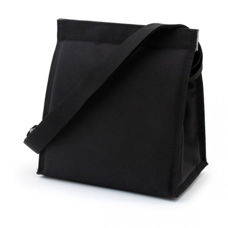 U-Konserve Insulated Lunch Sack, Black   This bag is made from 100% non-toxic recycled PET #1 plastic bottles! Insulated fabric helps keep your food hot or cold on the go. #student #dorm