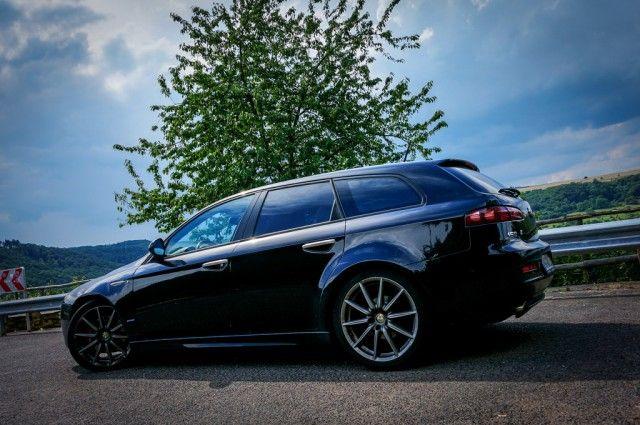 Treis Karden - Germany. Alfa Romeo 159 Sportwagon Turismo Ti