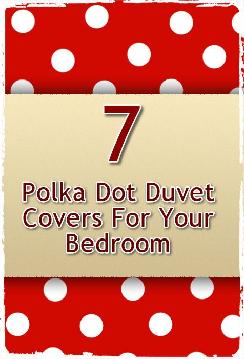 44 Best images about Polka Dot Duvet Cover on Pinterest | Polka ...