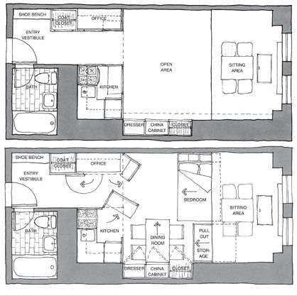 17 best images about small house plans on pinterest one for Small condo plans