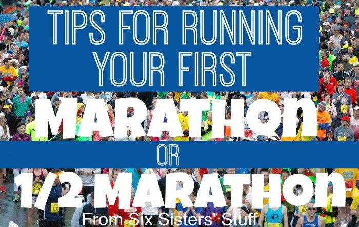 Setting a goal to run your first marathon or half marathon in 2015! Our sister Kristen is an AVID runner, and shares her top 10 tips for beginners!