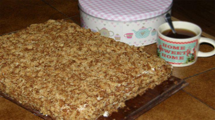 Fenséges torta, egy pillanat alatt elkészül, de az íze csodálatos!
