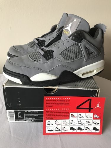 Details about Air Jordan 4 IV Retro NRG Raptor Size 10.5 DS W  Box Nike  Reciept 100% Authentic  bf5ef13ef