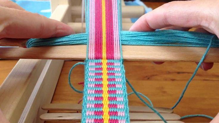 Plain Weaving. Shoulderstrap for Mochila bag / Schouderband voor Mochila...