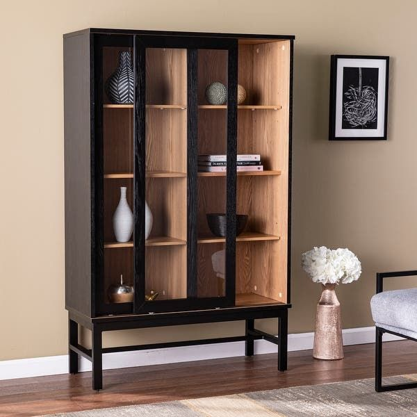 Our Best Living Room Furniture Deals Display Cabinet Furniture Black Cabinets