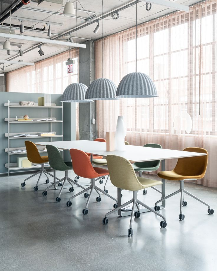 Modern Scandinavian Office Chair Inspiration For Office Space Interior From Muut Office Chai Modern Office Interiors Modern Office Space Modern Office Design