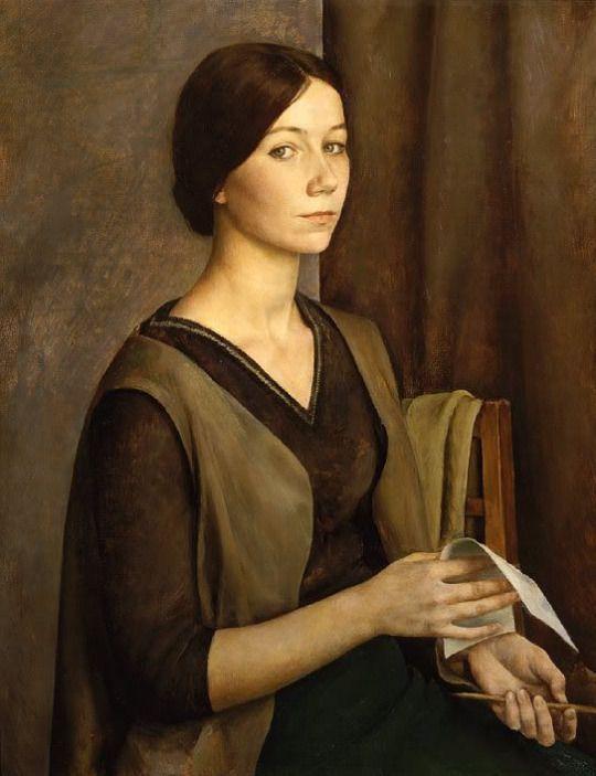 Women in Art History | Self Portrait, L.N. Kirillova