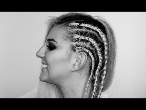 how to make cornrows in your own hair for beginners