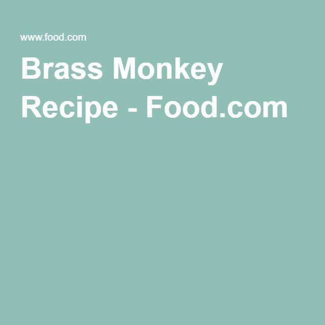 Brass Monkey Recipe - Food.com