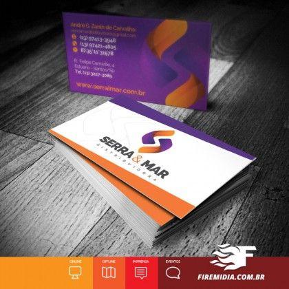 Cartão de Visita - Serra & Mar Distribuidora - FIRE MÍDIA http://firemidia.com.br/beneficios-do-abacate-aliado-em-dietas-para-emagrecer-e-ganhar-massa-muscular/