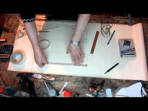 (610) Изготовление выкройки жилета прямого силуэта из меха и кожи - YouTube