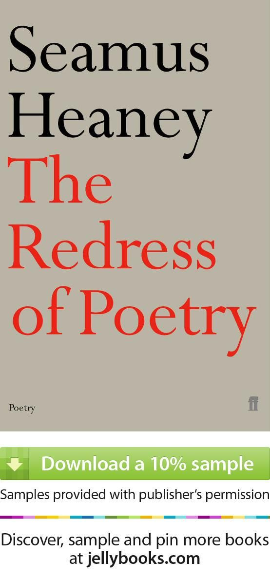 'The Redress of Poetry' by Seamus Heaney