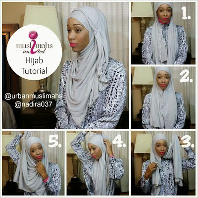 great hijab style I have tried and enjoy!