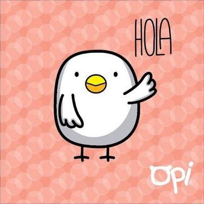 Hola, Feliz Día!! #opi cute kawaii