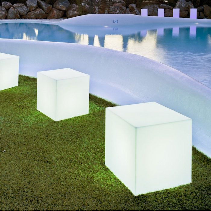 24 best Terrasse images on Pinterest Outdoor ideas, Backyard patio - cube lumineux solaire exterieur