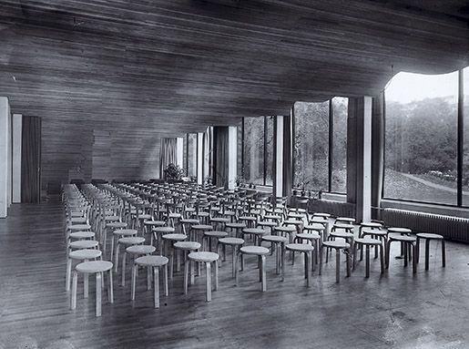 この画像をTOUCH: Viipuri Municipal Library interior. Built 1933-1935., Sto... by Artek