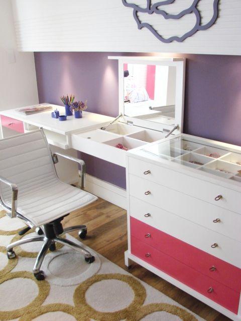 quarto de menina www.casaprontaquartos.com.br