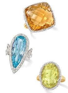 Ross Simons Diamond Cocktail Rings