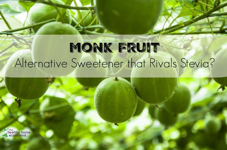 Monk fruit is a safe alternative sweetener used for centuries. As good as stevia if not a bit better!