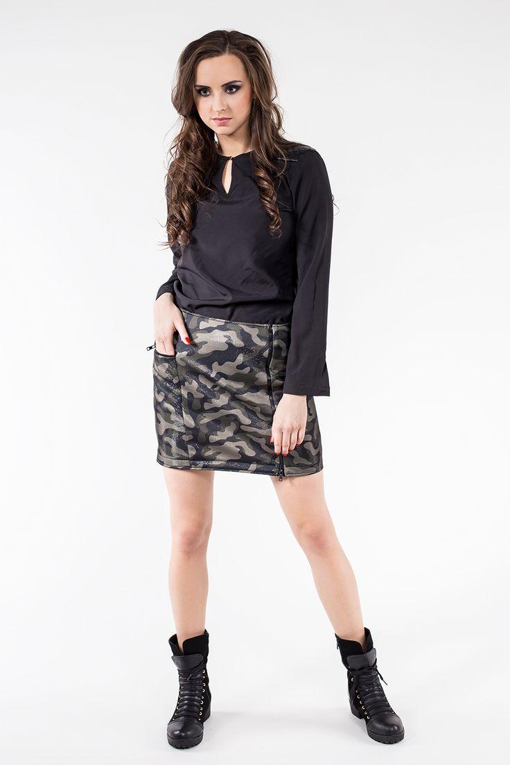 Spódnica moro SL6079 www.fajne-sukienki.pl