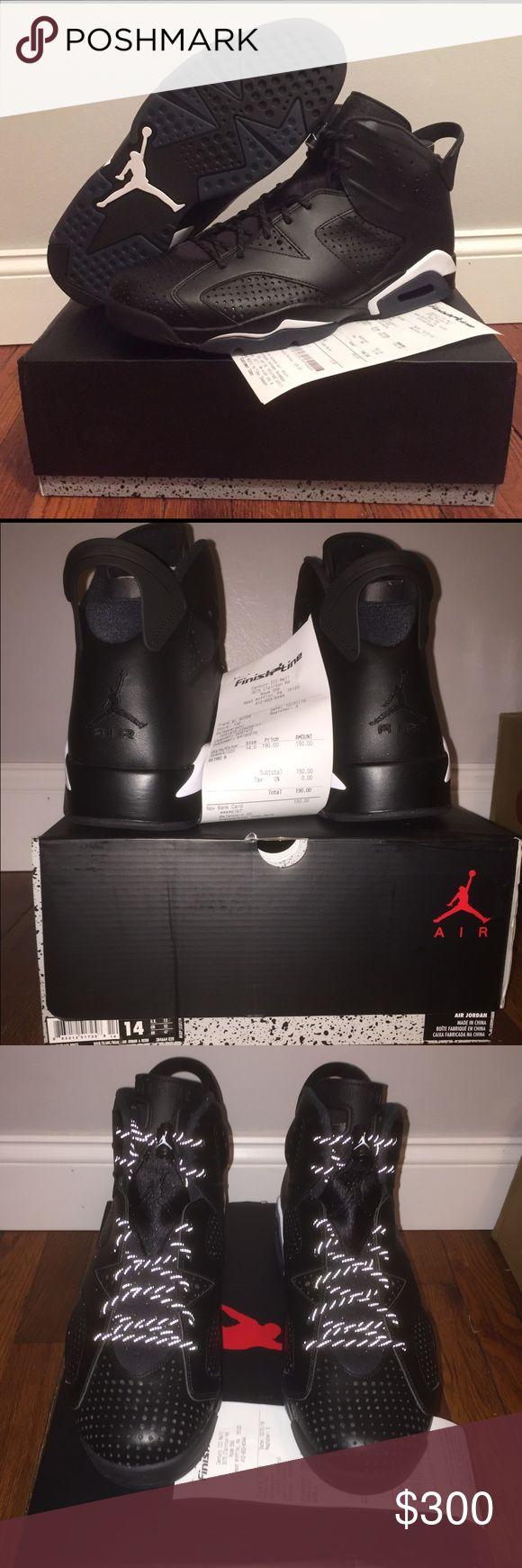 "Jordan retro 6 ""black cat"" Brand new. Ds. Never worn or tried on. Size 14 Jordan Shoes Sneakers"
