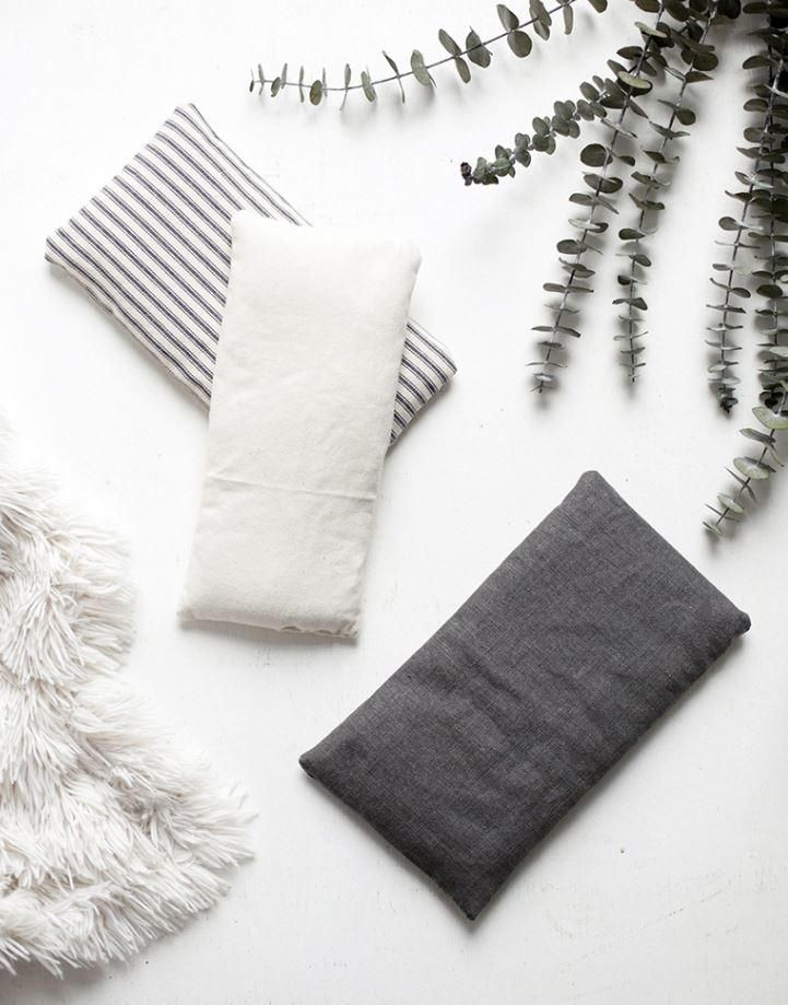 how to make a heating pad with a towel