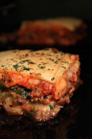 Deep Dish Crescent Pizza Casserole