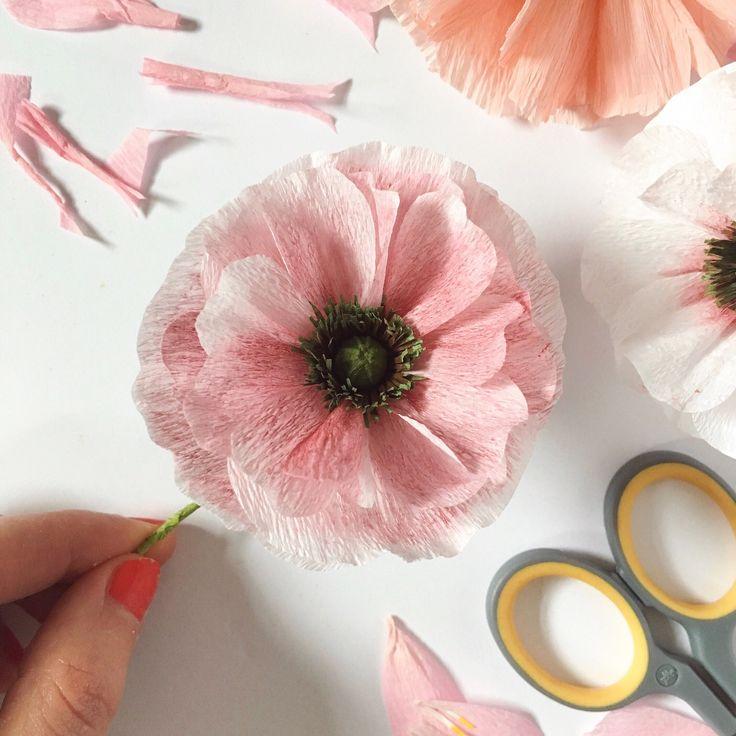 Paper Angel Choir Poppy by A Petal Unfolds