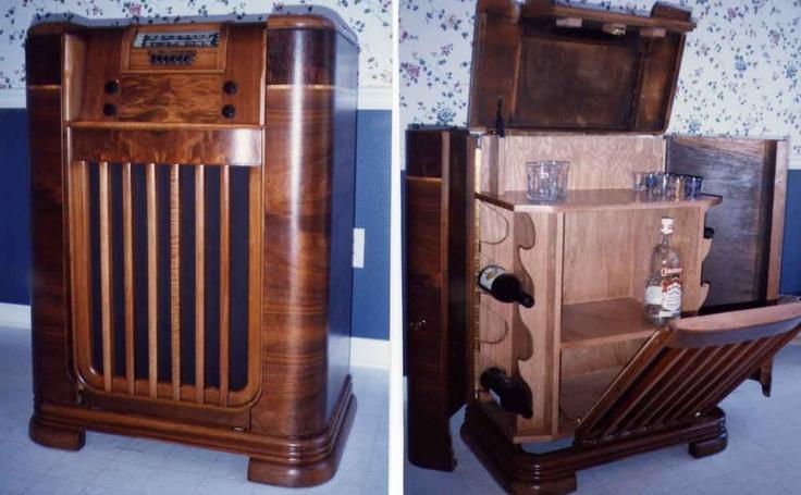 7 best Vintage Radio Cabinets images on Pinterest | Radios ...