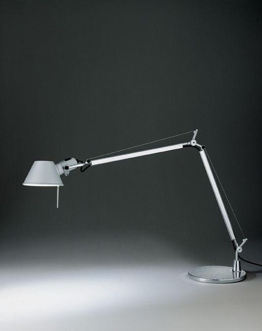 Lampe de bureau Tolomeo Tavolo réflecteur aluminium, LED