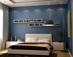 Projekty aranżacji wnętrz studio DEQOS - Sypialnia, styl nowoczesny - zdjęcie od DEQOS