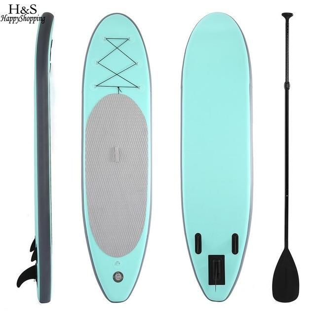 Elifine 30 Wide Inflatable Stand Up Paddle Board Sup With Adjustable Paddle Backpack Hand Pump Inflatable Paddle Board Cheap Paddle Boards Standup Paddle