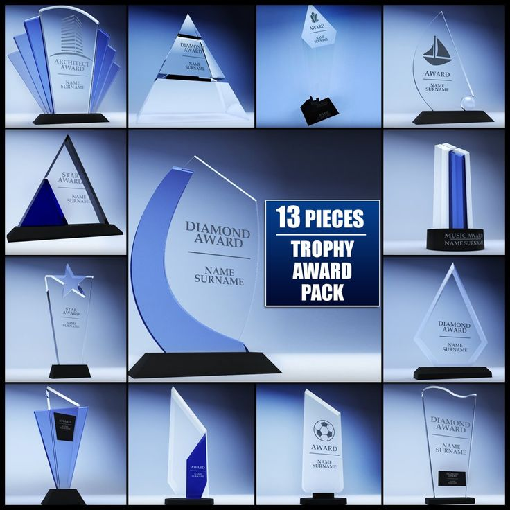 Luxury Royalty free Trophy award cup low poly pack D Modell by kreatura Verf gbare Formate