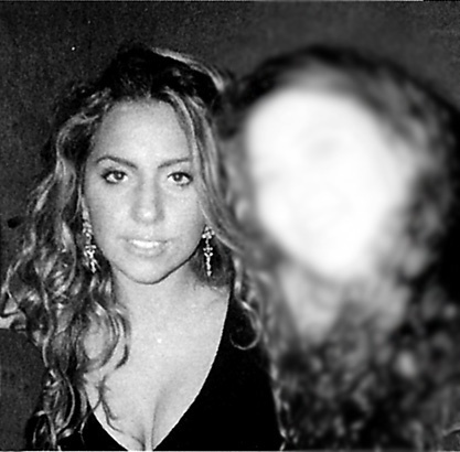 Lady Gaga High School Yearbook Picture lady gaga when she was in high