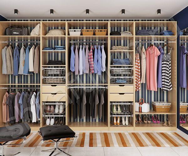 Каждой хозяйке известно, как много нужно места для хранения одежды и обуви. Вместительный гардеробный шкаф, изготовленный на заказ по индивидуальным размерам, - самый оптимальный вариант для бережливых хозяев. Все вещи находятся в одном месте, развешены и разложены аккуратно по полочкам, проветриваются и не мнутся, что позволяет им служить значительно дольше. С таким гардеробным шкафом легче следить за порядком в доме.