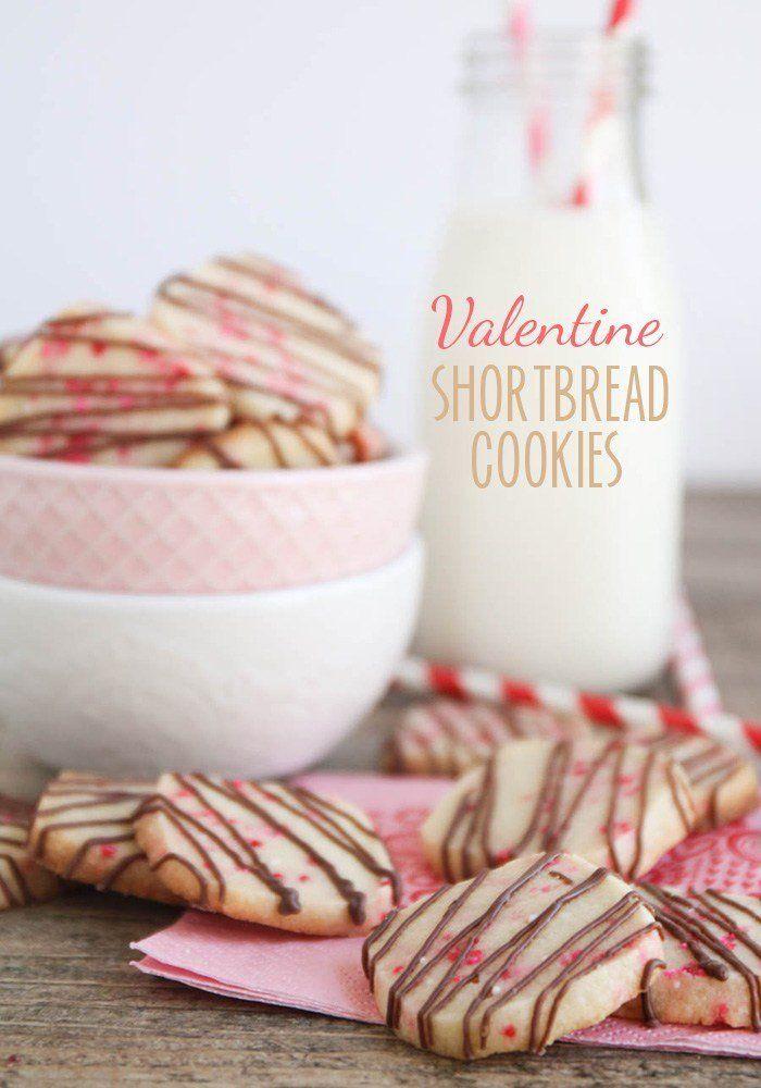 Valentine Shortbread Cookies | Recipe | Shortbread Cookies, Cookies ...