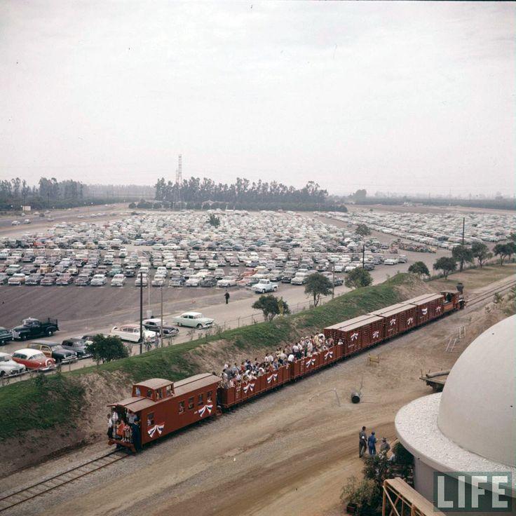 Best Anaheim Before Disneyland Images On Pinterest Vintage - 18 amazing rare colour photos disneyland 1955