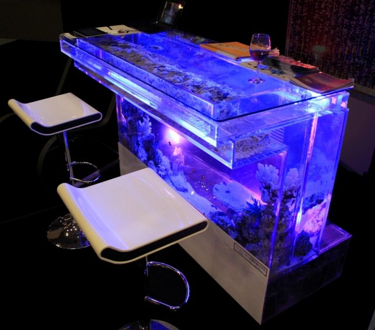 12 best glass aquariums images on pinterest fish for Fish tank bar