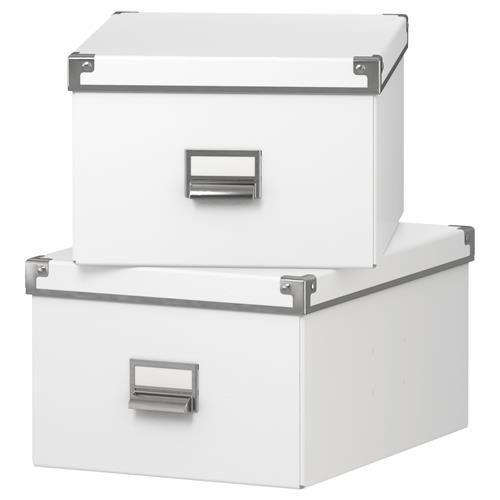 KASSETT Χάρτινο κουτί με καπάκι - IKEA