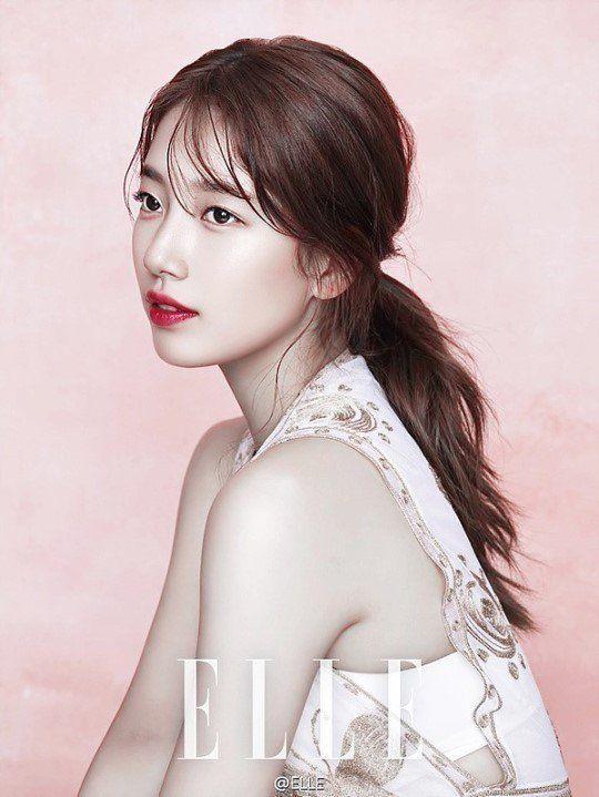 Suzy is uncontrollably gorgeous for Elle Korea