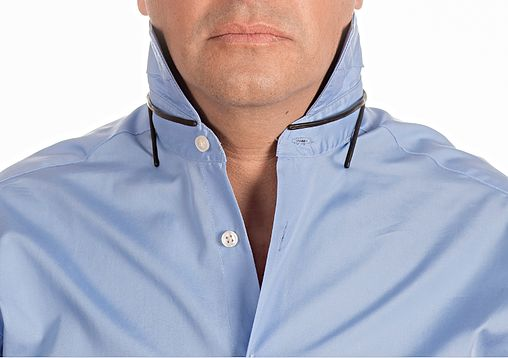 Stiff Collar Stay is an innovative men's accessory. Provides a unique solutions to common issues such as collar stays for men's dress shirts and polo shirts