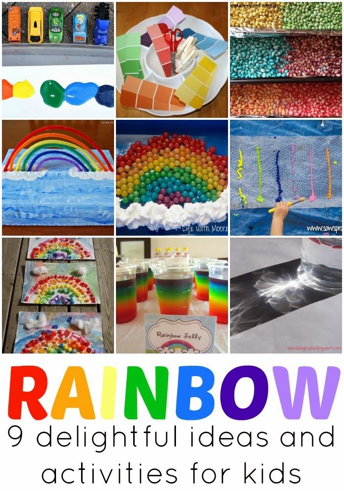 9 Rainbow Themed Activities And Ideas For Kids