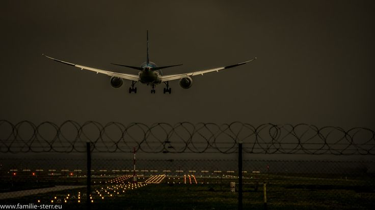 ANA / Landung am Flughafen München