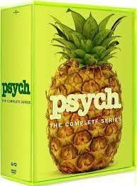 Psych: The Complete Series Seasons 1-8 DVD 31-Disk Box Set 2014 Brand New