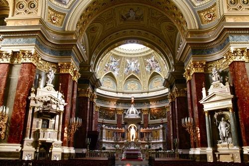 St. Stephen's Basilica, #Budapest #Hungary #travel #Europe #city