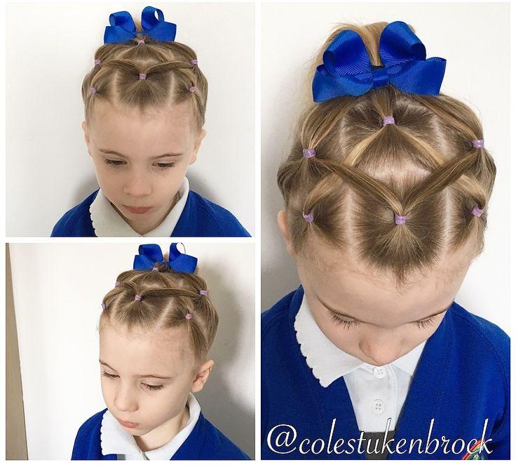 Sophiella's cris cross band ponytail effort rating 2/10