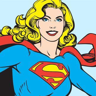 SuperGirl Character Art